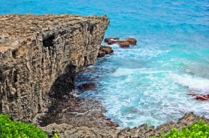 ハワイ岩場
