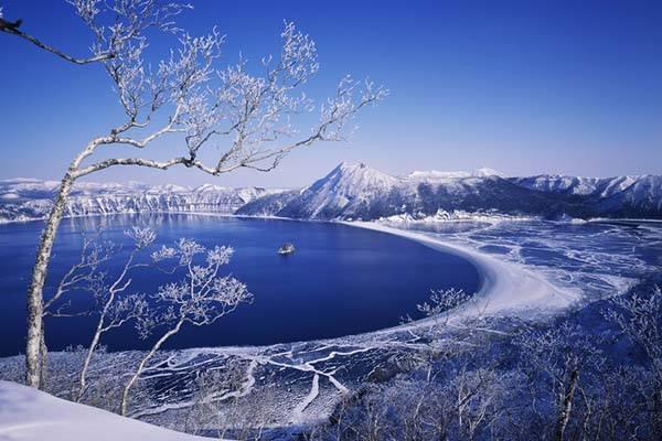 雪、自然の美しさn