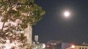 節分の満月
