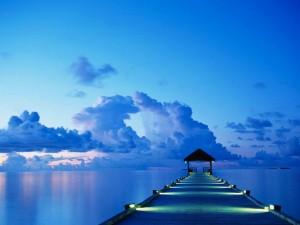 ブルーの夜明け