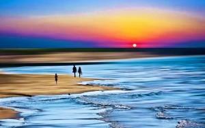 綺麗なビーチだ